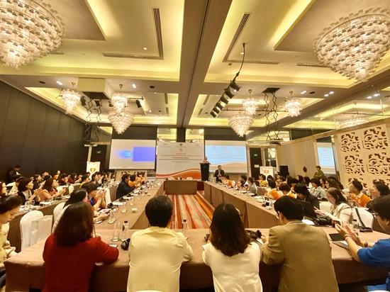 Hội nghị sơ kết chiến dịch truyền thông về bình đẳng giới và phòng, chống bạo lực trên cơ sở giới