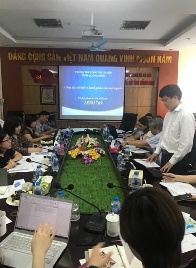 """Tiếp đoàn chuyên gia Hàn Quốc và tổ chức Unfpa khảo sát triển khai hoạt động dự án """"Xây dựng mô hình hỗ trợ phòng, chống bạo lực đối với phụ nữ và trẻ em gái tại Việt Nam""""."""