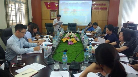 Hội nghị giao ban Tổ Công tác liên nghành và Ban chỉ đạo tuyến xã/phường tham gia Mô hình Chăm sóc sức khỏe tâm thần dựa vào cộng đồng tại tỉnh Quảng Ninh giai đoạn 2016 - 2018.